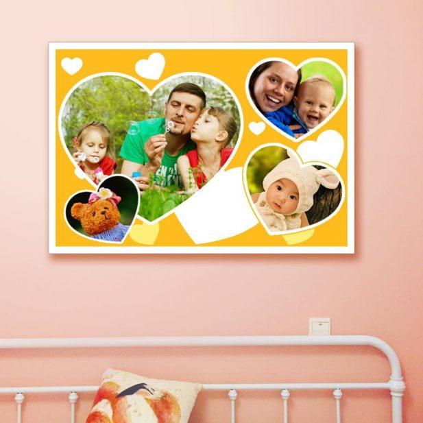 Personalized Photo Collage Canvas Design 4 4