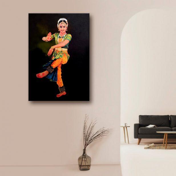 Personalized Portrait Canvas Photo Print 2