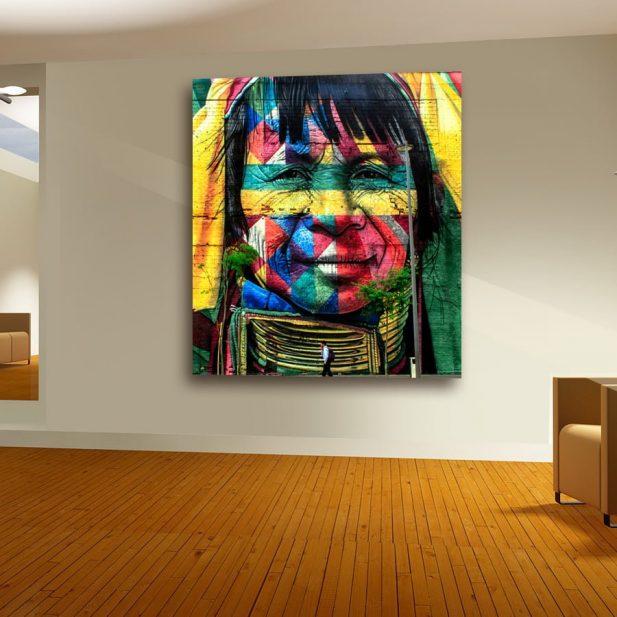 Personalized Square Canvas Photo Print 3