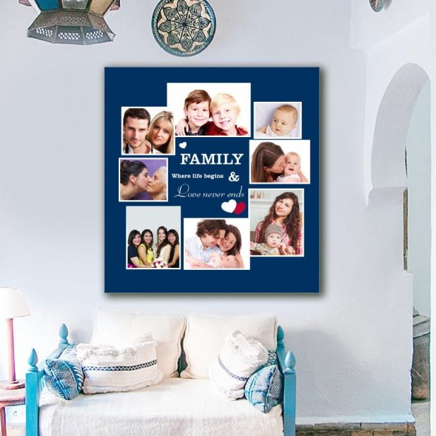 Personalized Photo Collage Canvas Design 14 2