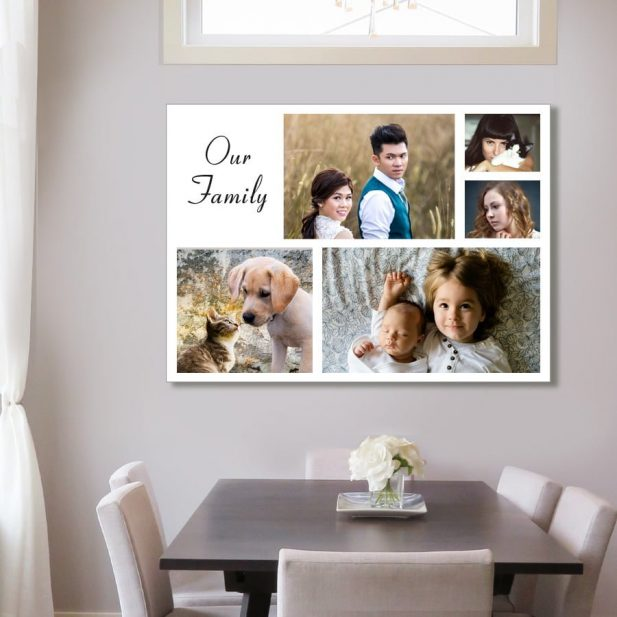 Personalized Photo Collage Canvas Design 15 1