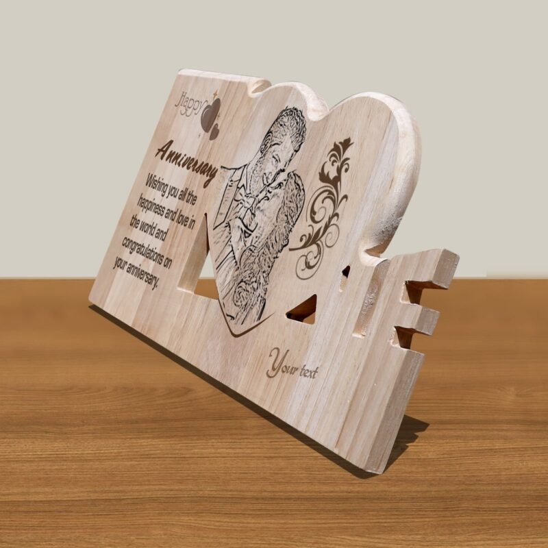 Personalized Wooden Engraving Photo Frame & Plaques Design 5 2