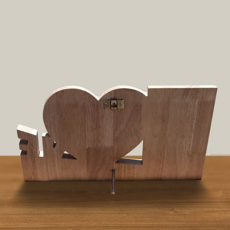 Personalized Wooden Engraving Photo Frame & Plaques Design 5 4