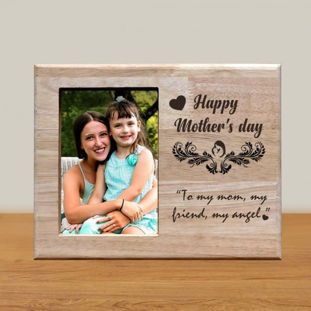 Personalized Wooden Engraving Photo Frame & Plaques Design 8  8