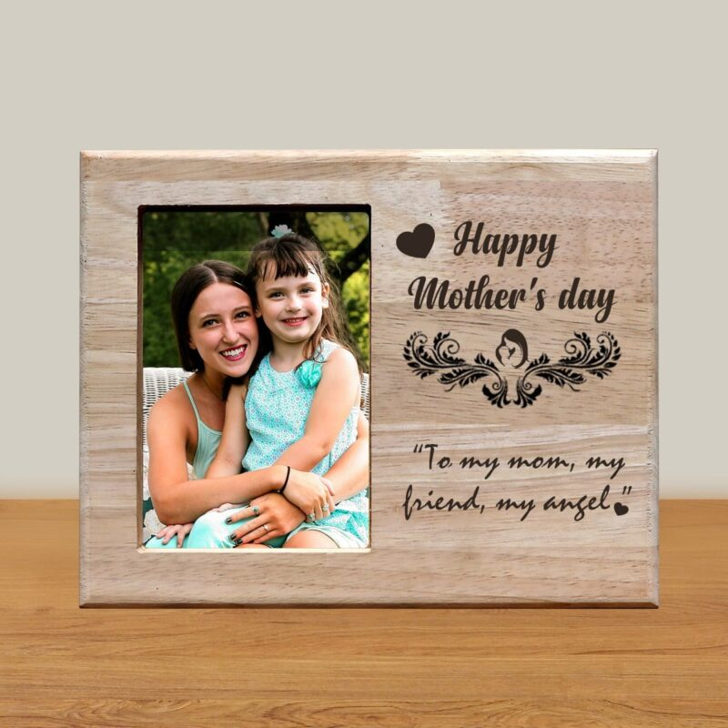 Personalized Wooden Engraving Photo Frame & Plaques Design 8 1