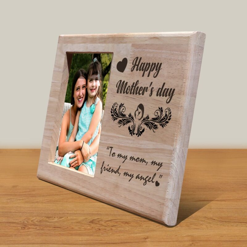 Personalized Wooden Engraving Photo Frame & Plaques Design 8 2
