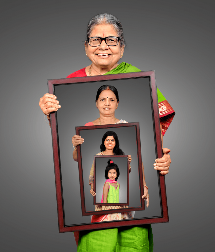 Personalized Photo Printing With Synthetic Frame 1