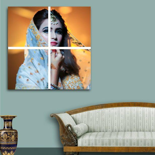 Personalized Photo Mosaic Canvas Design [2x2] 1