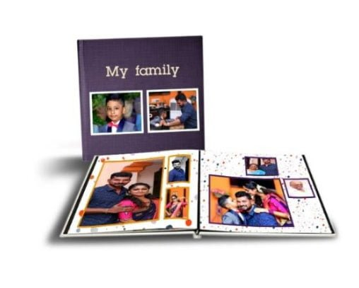 Personalized Professional Photo Album 1