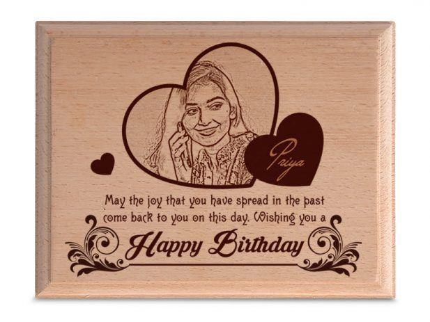 Personalized Wooden Photo Art Frame Design 1 1