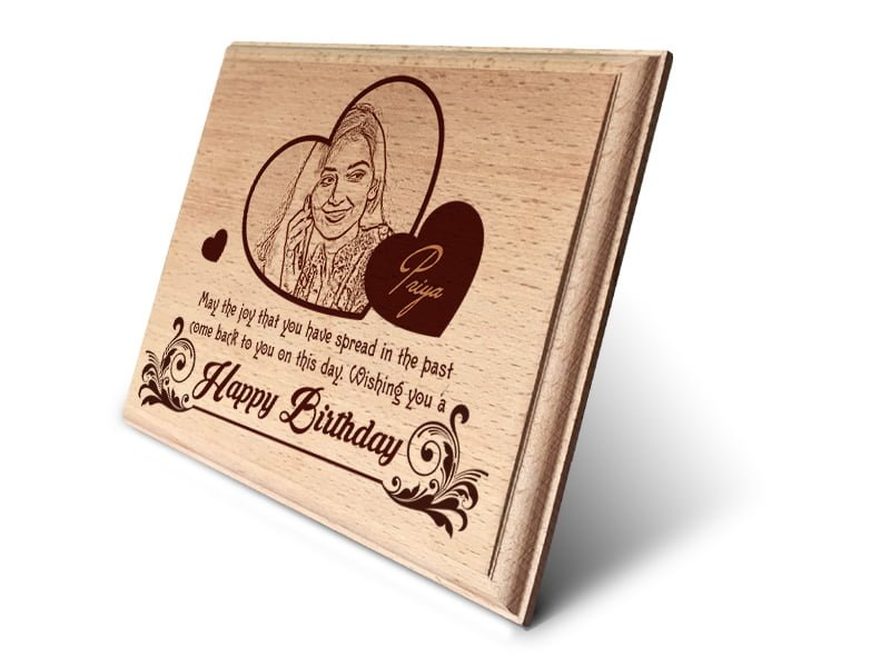 Personalized Wooden Photo Art Frame Design 1 2