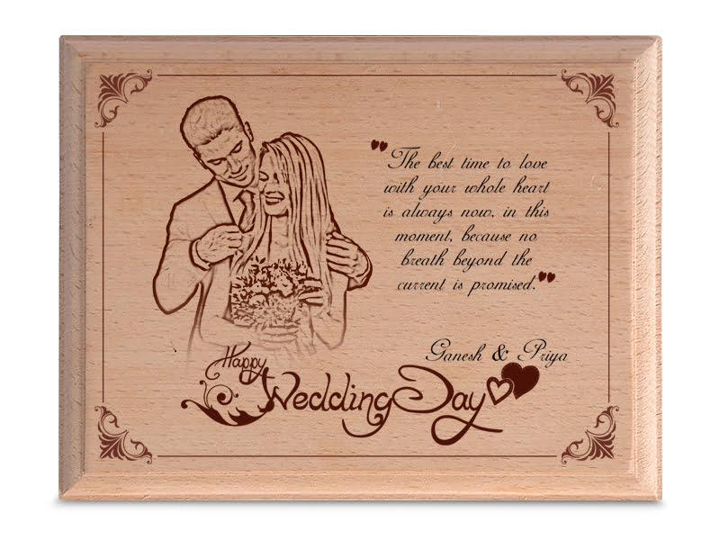 Personalized Wooden Photo Art Frame Design 2 1