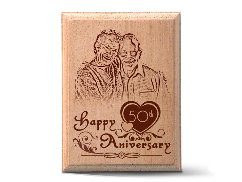 Personalized Wooden Photo Art Frame Design 3 1