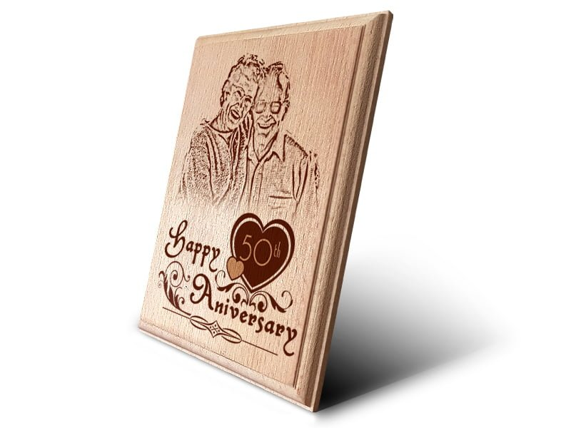 Personalized Wooden Photo Art Frame Design 3 2