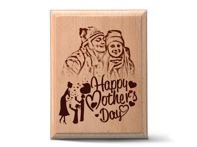 Personalized Wooden Photo Art Frame Design 4 1
