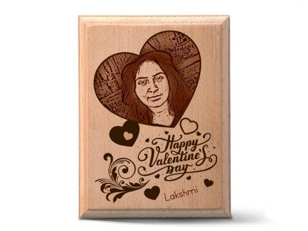 Personalized Wood Art Photo Design 5 5