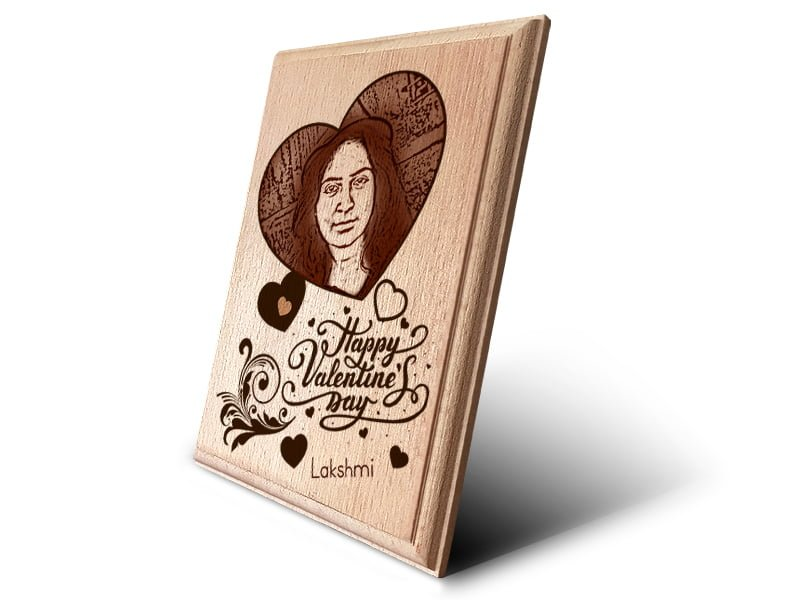 Personalized Wooden Photo Art Frame Design 5 2
