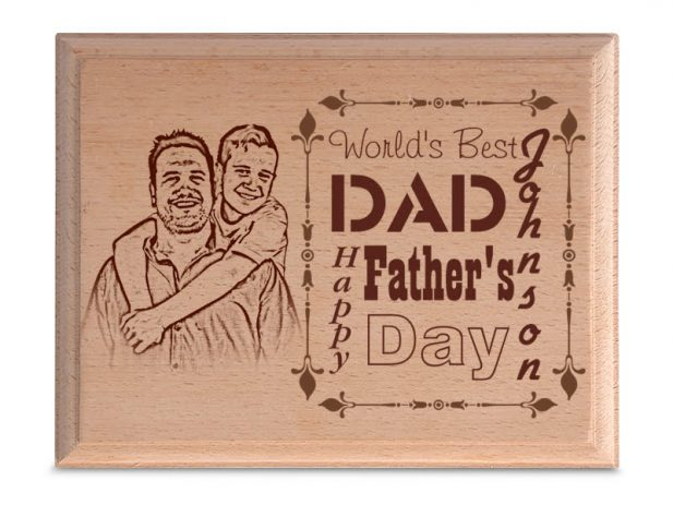 Personalized Wood Art Photo Design 6 6
