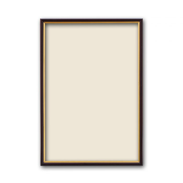 Personalized Golden Border Synthetic Photo Frame Design 13 2