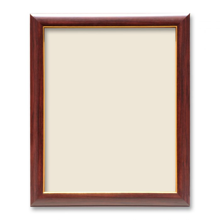 Personalized Brown With Golden Synthetic Photo Frame Design 9 2