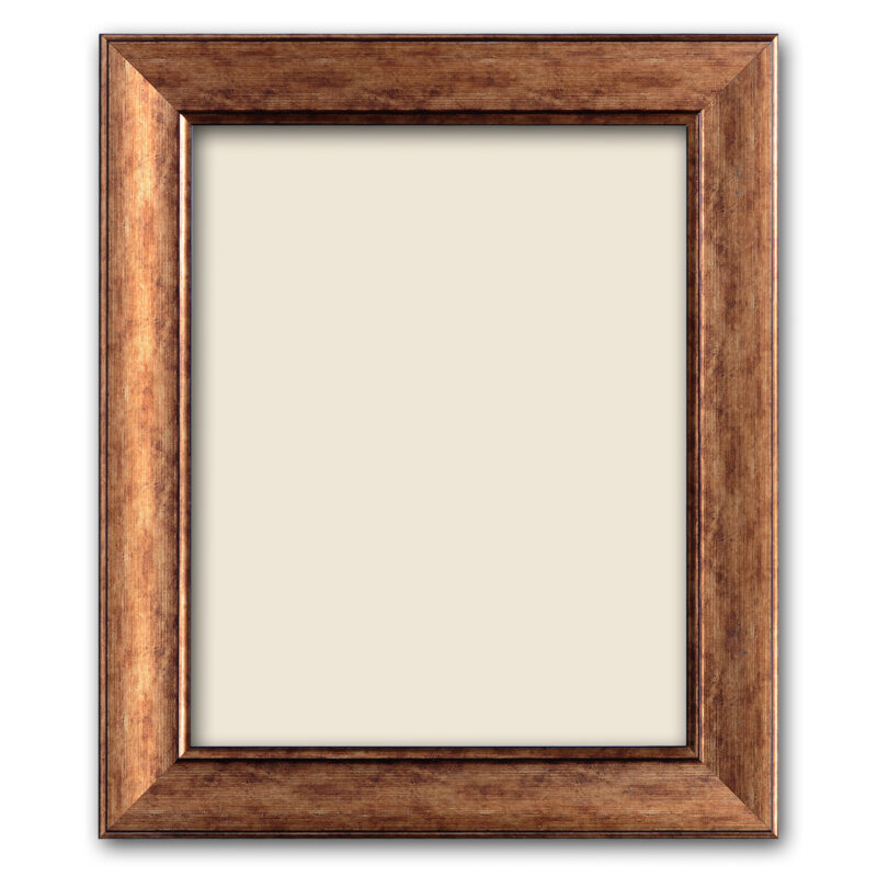 Personalized Light Brown Synthetic Photo Frame Design 2 2