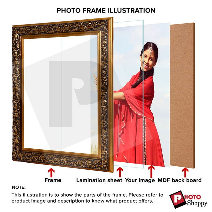 Personalized Designed Synthetic Photo Frame Design 3 4