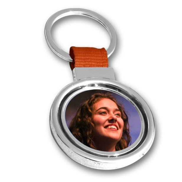 Personalized Photo Keychain Double Side Design 9 9
