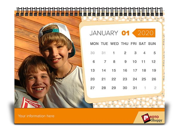 Personalized Baby Calendar 2020 10