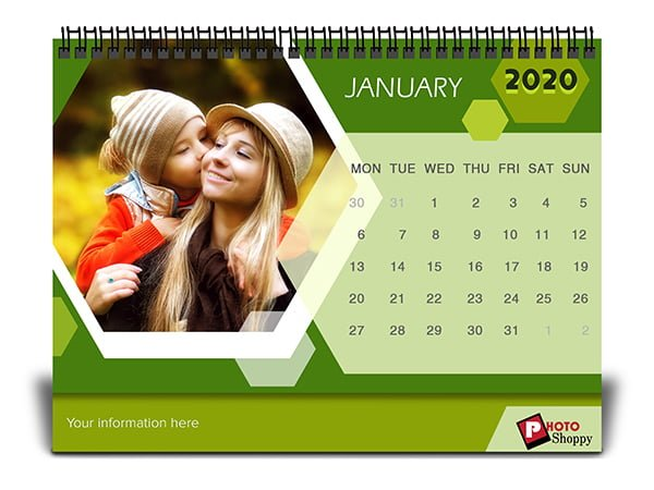 Personalized Family Calendar 2020 8