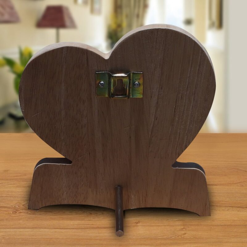 Personalized Wooden Engraving Photo Frame & Plaques Heart Design 10 4