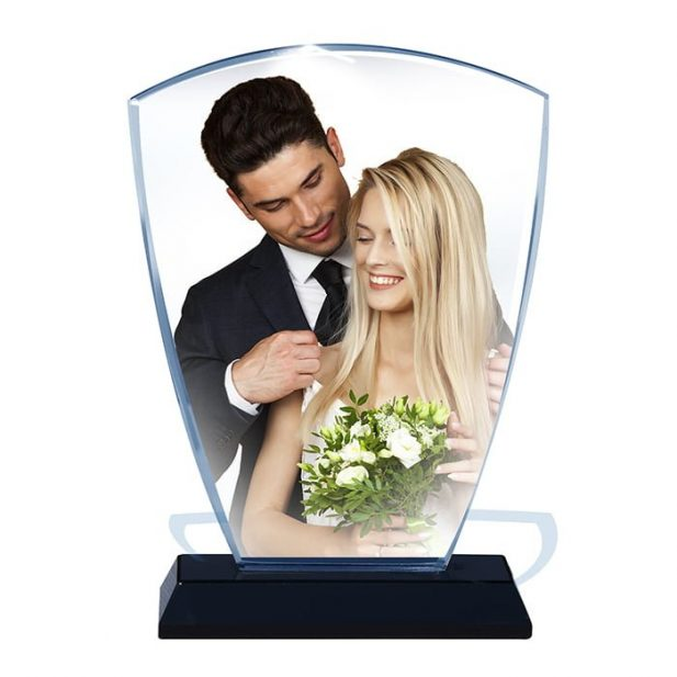 Personalized 3D Crystal Shield Design 1 9