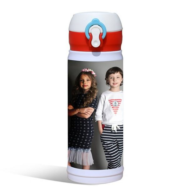 Personalized Thermos Travel Photo Flask 5