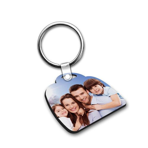 Personalized Photo keychain Double Side Design 15 11