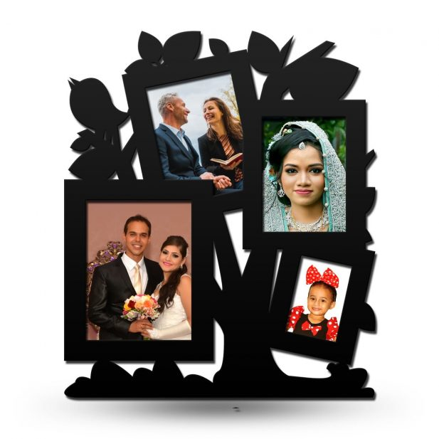 Personalized Family Tree Collage Photo Frame 8