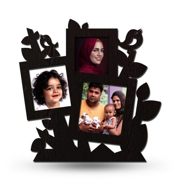 Personalized Tree Collage Photo Frame 6