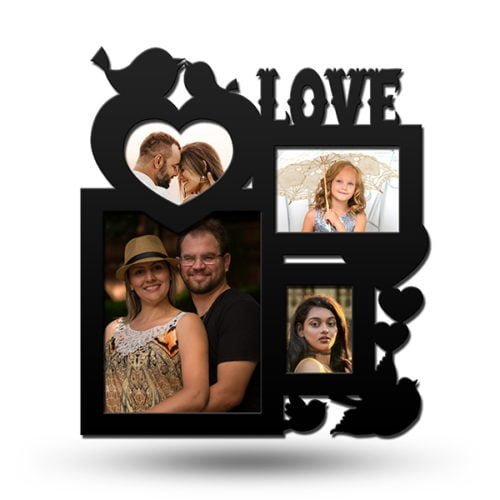 Personalized Love Collage Photo Frame 5