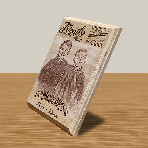 Personalized Wooden Photo Art Frame Design 9 2