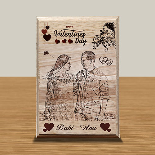 Personalized Wood Art Photo Design 10 10