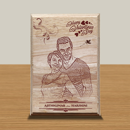 Personalized Wooden Photo Art Frame Design 13 13
