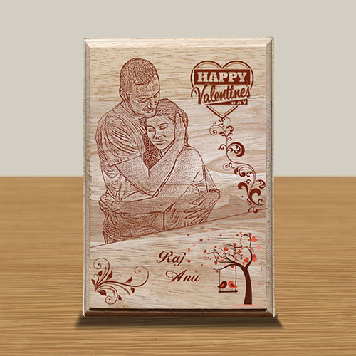 Personalized Wooden Photo Art Frame Design 12 12