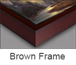 frame brown