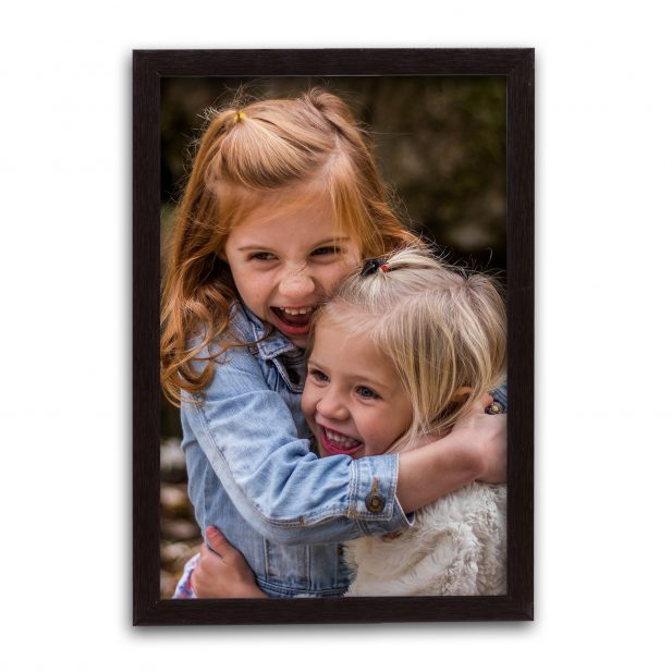 Personalized Black Synthetic Photo Frame Design 33 33