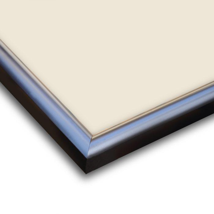 Personalized Plain Black Synthetic Photo Frame Design 23 3