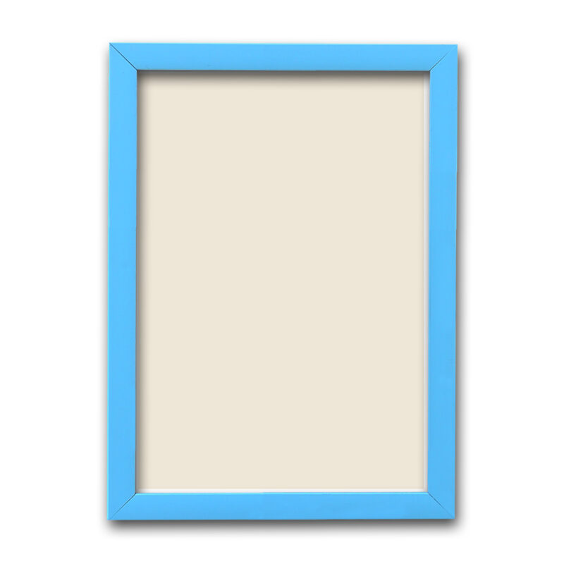 Personalized Sky Blue Synthetic Photo Frame Design 25 2