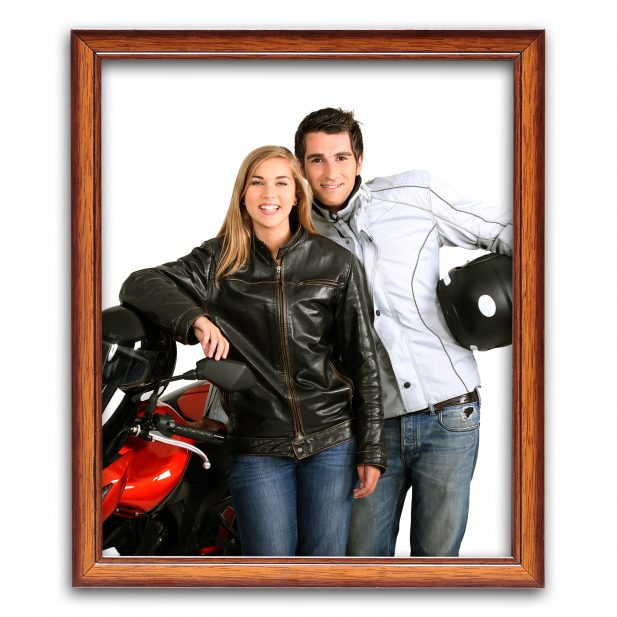 Personalized Brown Synthetic Photo Frame Design 31 31