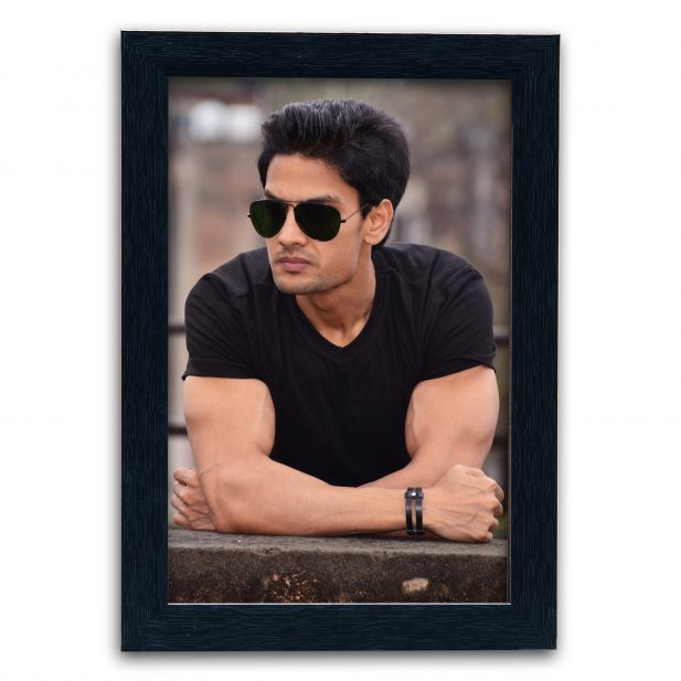 Personalized Black Synthetic Photo Frame Design 20 8