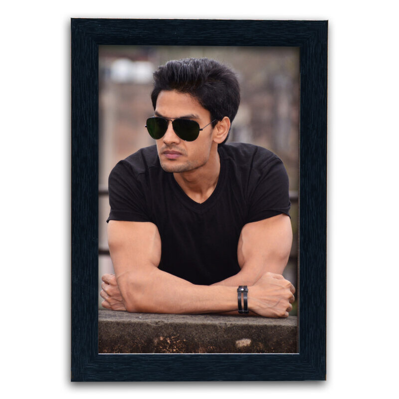 Personalized Black Synthetic Photo Frame Design 20 1