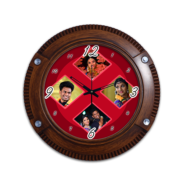 Photo Wall Clock 9