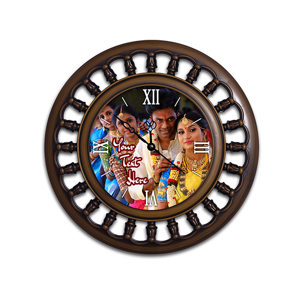 Photo Wall Clock 5