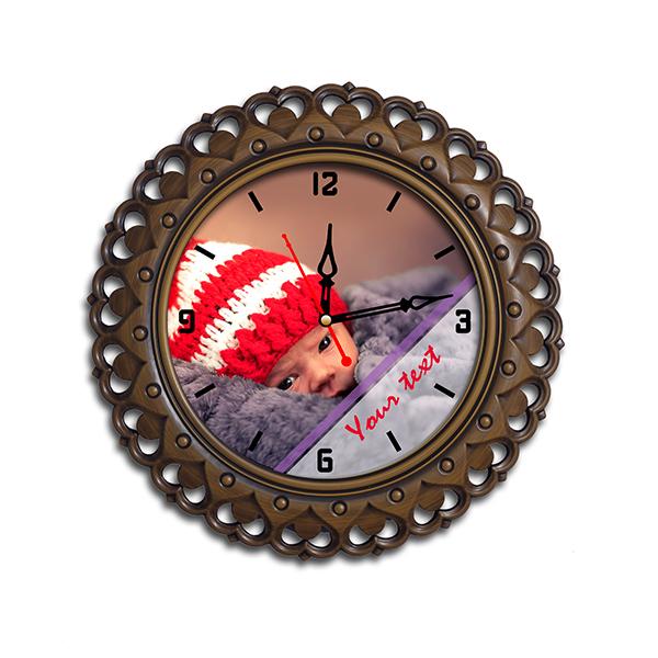 Photo Wall Clock 3